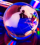 Color globe Royalty Free Stock Images