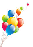 Color glossy balloon Stock Image