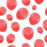 Color Glossy Balloons Pattern Background. Vector Illustration EPS10 Stock Photography