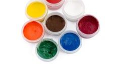 Color gouache Stock Image