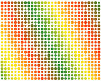 Color gradient circles Royalty Free Stock Photo