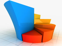 Color Graph Royalty Free Stock Image