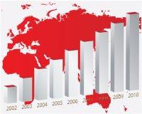 Color graph Stock Photo