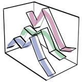 color graph 免版税库存图片