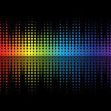 Color graphic equalizer Stock Photo