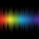 Color graphic equalizer Royalty Free Stock Image