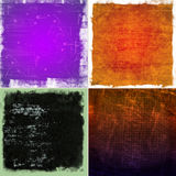Color grunge backgrounds Royalty Free Stock Image
