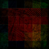 Color grunge checkered background Royalty Free Stock Image