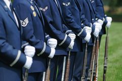 Color guard Stock Photo