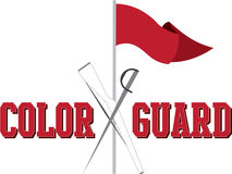 Color Guard Royalty Free Stock Photos