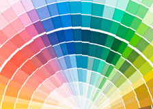 Color guide. Royalty Free Stock Photography