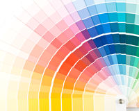 Color guide. Royalty Free Stock Images