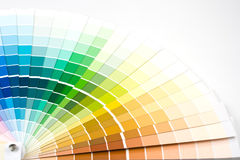 Color guide. stock image