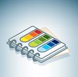 Color Guide Book Stock Photo
