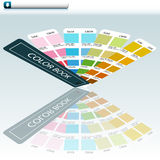Color Guide Chart Royalty Free Stock Photos