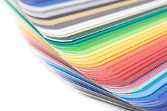 Color guide close-up Stock Photo