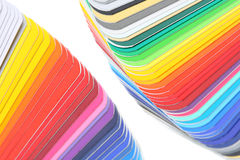 Color guide close-up. Color guide, close-up shot, shallow depth of field royalty free stock images