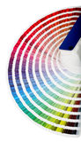 Color Guide Close-up Royalty Free Stock Photo