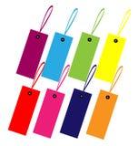 Color guide label design. Color guide label sets design vector Vector Illustration