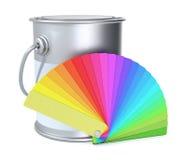 Color guide Stock Photos