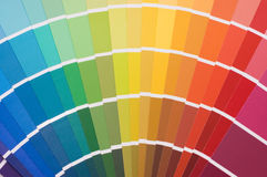 Color guide for selection Stock Photography