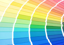 Color guide for selection Stock Photos