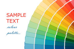 Color guide for selection Royalty Free Stock Images