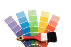 Color guide for selection Royalty Free Stock Image