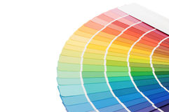 Color guide for selection Royalty Free Stock Photo