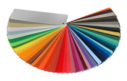 Color guide spectrum Stock Photos