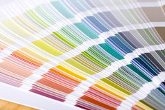 Color guides Stock Photos