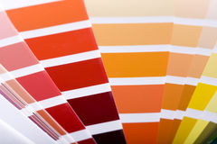 Color guides Royalty Free Stock Photo