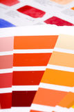 Color guides Stock Image