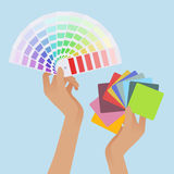 Color guides Royalty Free Stock Photos