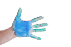 Color hand Stock Photos