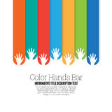 Color Hands Bar Stock Photos