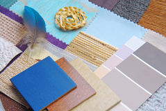 Color harmonisation for interior Stock Images