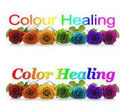 Color Healing Banner Royalty Free Stock Image