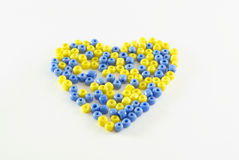 Color heart Stock Image