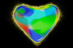 Color of heart Royalty Free Stock Photo