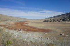 Color hermoso de la caída en California foto de archivo