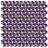 Color hexagon pattern background Royalty Free Stock Images