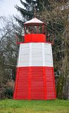 Color high lighthouse Royalty Free Stock Photography