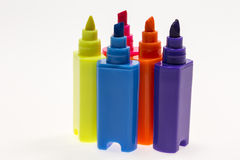Color Highlight Pens Royalty Free Stock Image