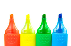 Color Highlighters Royalty Free Stock Photo