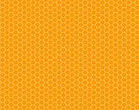 Color honeycomb seamless pattern royalty free illustration