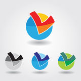 Color icon Royalty Free Stock Photos