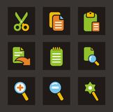 Color Icon Series - General Icons Royalty Free Stock Photo
