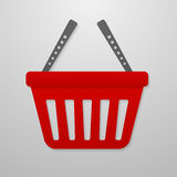 Color icon of shopping cart Stock Photos