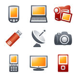 Color icons for website 16 Stock Photos